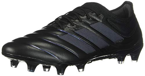 adidas Men's Copa 19.1 FG Soccer Cleats (9.5M, Black/Black)