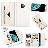 Couverture de boîtier de téléphone, Pour Samsung Galaxy A6 2018 Type de portefeuille de...