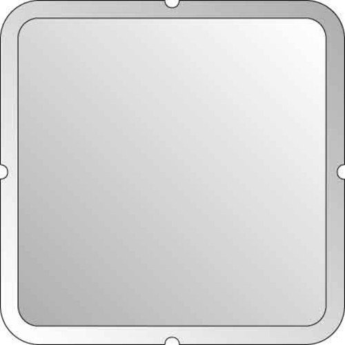 Elso ELG203010 Blindabdeckung aufrastbar F/S, perlweiß