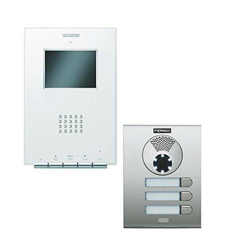 Kit vídeoportero 3 viviendas Color, VDS, ILOFT Pure