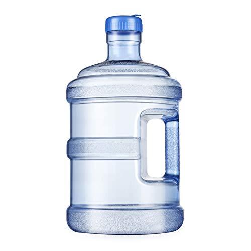 XYJNN Water Container|Deposito Agua| Cubo Plástico Al Aire Libre del Almacenamiento De Agua del Tanque De Almacenamiento De Agua Portátil del Hogar 5L-18.9L (Color : Blue, Size : 18.9L)