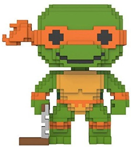 Funko 8-Bit Pop!: Teenage Mutant Ninja Turtles - Michelangelo Collectible Figure
