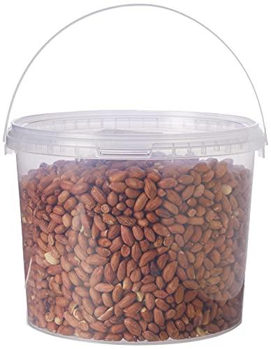 Garden Ting Premium Peanut Kernels, Wild Bird Food Tub, 3 Litre