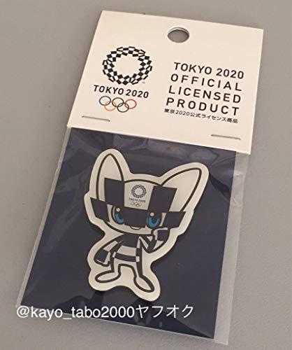 東京オリンピック2020 ピンバッジ オリンピックマスコット ミライトワ マグネットタイプ OL0027