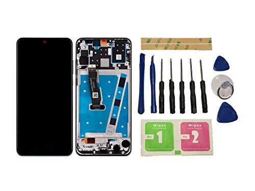 Flügel für Huawei P30 Lite Display LCD Ersatzdisplay Schwarz Touchscreen Digitizer Bildschirm Glas Komplett Einheit mit Rahmen Ersatzteile & Werkzeuge & Kleber