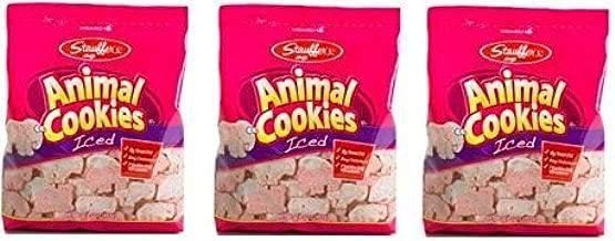 Animal Cookies Iced   Stauffers   11 oz Bag   3 Pack