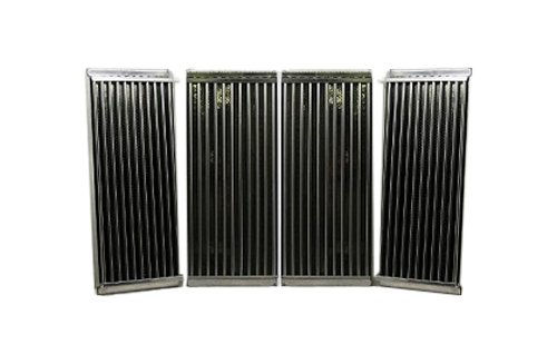 Music City Metals 5S584 Stamped Stainless Steel Cooking Grid Replacement for Select Charbroil and Kenmore Gas Grill Models, Set of 4