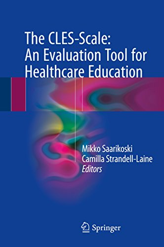 41hvVKfEvrL - The CLES-Scale: An Evaluation Tool for Healthcare Education