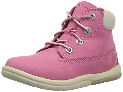 Timberland Unisex Baby Toddle Tracks 6 Inch Stiefel, Pink (Fuschia Rose Nubuck D56), 22 EU