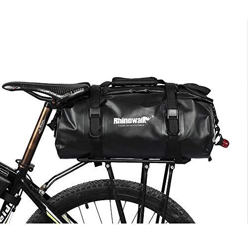 Wisdomx Rhinowalk 20L MTB Bolsa de Bicicleta Trasera Impermeable, Bolsas de alforjas...