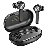 Wireless Earbuds, Letsfit Bluetooth 5.0 Headphones TWS Stereo Earphones with Microphone Charging Case, Waterproof in-Ear True Buds with USB C for Running Sports