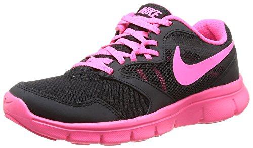 Nike 653698 001 Flex Experience 3 Gg Mädchen Sportschuhe - Fitness Mehrfarbig (Black/Hyper Pink-White) 35.5