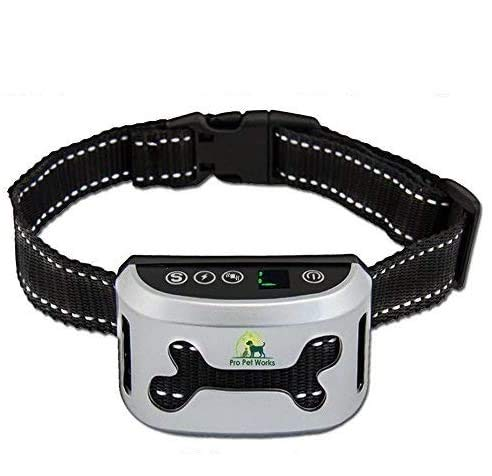 Bark Collar By Pro Pet Works [2018 SMART CHIP] No...
