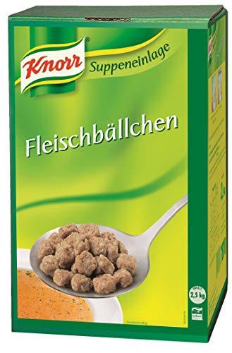 Knorr Fleischbällchen (Suppeneinlage mit kräftigem Fleischgeschmack) 1er Pack (1 x 2,5 kg)