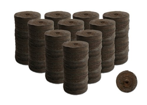 100 Count- Jiffy 36 MM Peat Soil Pellets