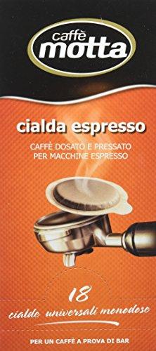 Motta - Cialda Espresso, Confezione Salva Aroma Monodose, 18 Pezzi - 125 G