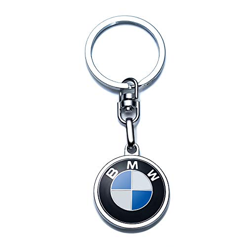 RUISOM Compatible for BMW Keychains 3D Car Logo Key Chain Key Ring Accessories , Suit for BMW 1 3 5 6 Series X5 X6 Z4 X1 X3 X7 7Series Business Gift Birthday Present for Men and Woman(1 Pack)