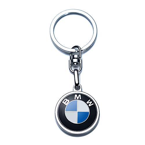 Compatible for BMW Keychains 3D Car Logo Key Chain Key