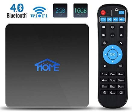 Home IPTV Box Boîtier TV 1600+ Chaînes International, Android TV Box Lecteur Multimédia 4K Ultra HD Journal Sport Cinéma Adultes. France Brésil USA UK Canada Inde Arabe Asie etc.(Abonnement Gratuit)