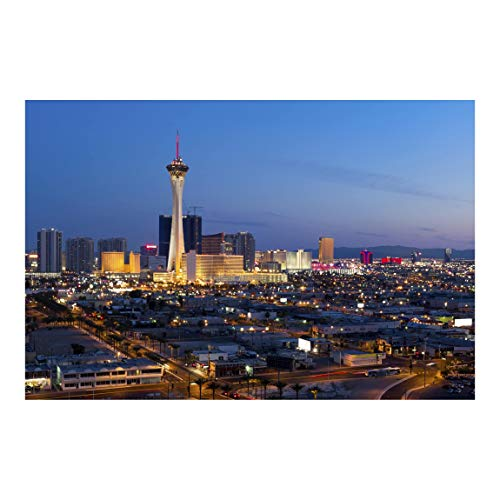Fototapete selbstklebend - Viva Las Vegas - Wandbild Querformat 190 x 288 cm
