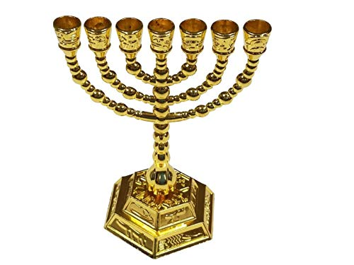 candelabro 7 brazos fabricante Bethlehem Gifts TM