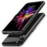 JOYZON バッテリー内蔵ケース 10000mA 大容量 iPhone 8 / 7 / 6s / 6専用 バッテリーケース 軽量 超薄 急速充電 超便利 耐衝撃 ケース型バッテリー 携帯充電器 モバイルバッテリー 200%バッテリー容 量追加 (iPhone 8 / 7 / 6s / 6)