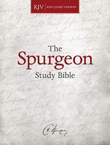 KJV Spurgeon Study Bibl