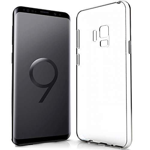 NewTop N Cover Compatibile per Samsung Galaxy S9, Custodia TPU Clear Gel Silicone Trasparente Slim Sottile Flessibile Case Posteriore Protettiva
