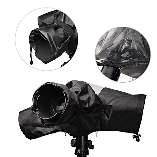 Optifeet Photo Emergency Rain Covers for DSLR and Mirrorless Cameras with up to a 600mm f/4 Lens - Large