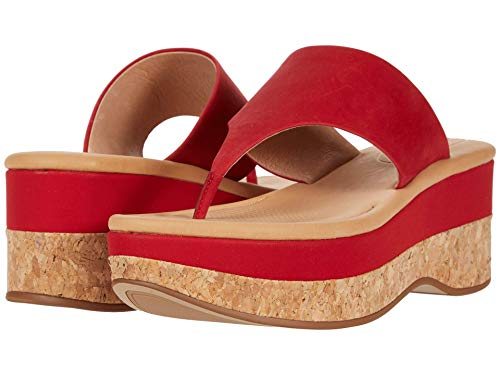 CC Corso Como womens Arowin Wedge Sandal, Mars Red, 5 US