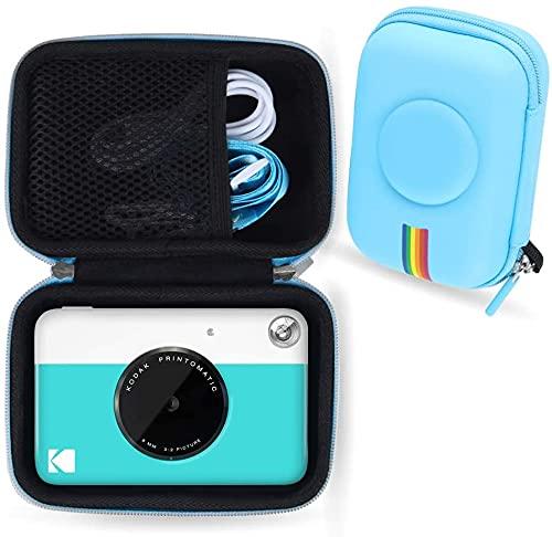 La custodia per fotocamera Leayjeen è compatibile con le fotocamere digitali a stampa istantanea Kodak Printomatic (solo custodia) (blue)
