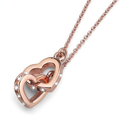 Oliver Weber Gold Halskette • Premium Schmuck Kollektion, Halskette mit Swarvoski Kristallen • Ideale Geschenkidee für Damen