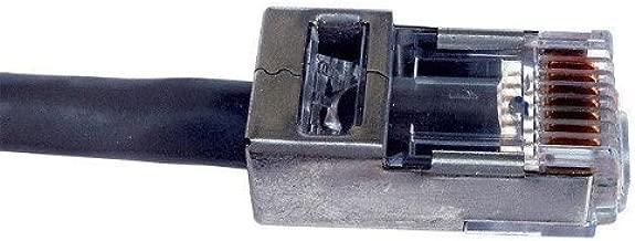 Platinum Tools 100021C EZ-RJ45 Shielded Cat5e/6, (Internal Ground). 10/Clamshell.(Pack of 10)