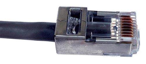 Platinum Tools 100020C EZ-RJ45 Shielded Cat5e/6, (Internal Ground). 50/Clamshell.(Pack of 50)