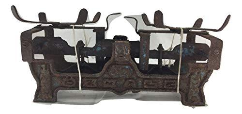 Báscula antigua antigua antigua vintage de hierro fundido, decoración para casa, taberna, tienda, rústica