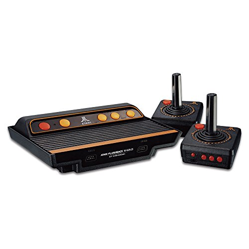 Millennium Atari Flashback 8 Gold HD - Kult Spielkonsole mit 120 Atari - Spieleklassikern