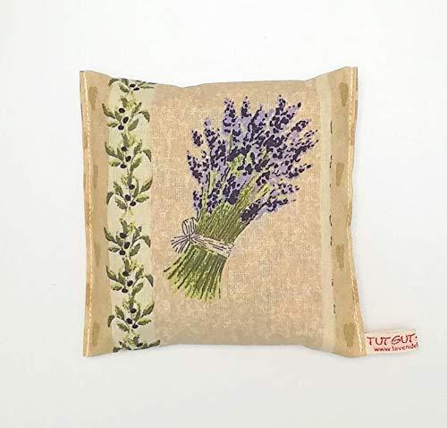 Lavendelkissen zum Schlafen Kleiner Lavendelstrauß mit 30 gr. französischen Lavendelblüten