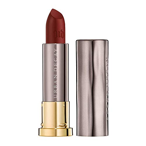 Urban Decay Vice Lipstick, Hex - Deep Red Wine with a Mega Matte Finish - Unbelievable Color, Smooth Application, Hydrating Ingredients - 0.11 oz