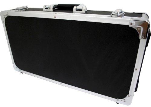 KC エフェクターケース EC-80/BK ブラック (内寸 685 x 295 x 65+20mm)