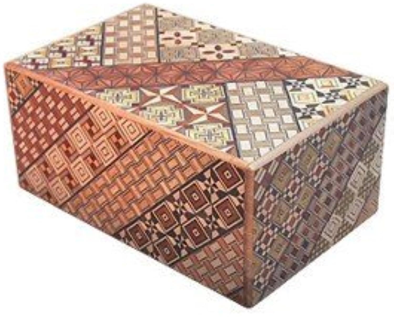 Yosegi Puzzle Box 5 sun - 21 step by Uncommon Treasures