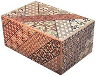 Yosegi Puzzle Box 5 sun - 21 step
