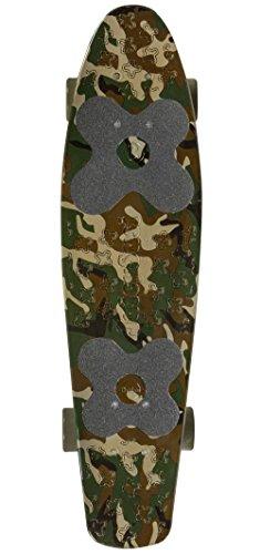 Choke. Big Jim Vinyl Skateboard Camouflage Camouflage, Standard