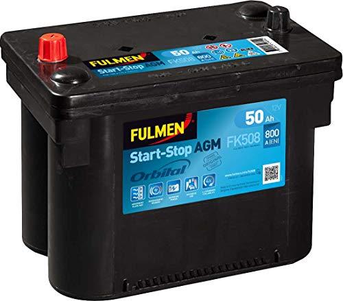 Fulmen - Fulmen - Batterie Voiture FULMEN Start-Stop AGM FK508 12V 50Ah 800A