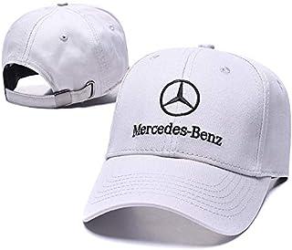 Funsport Baseball Cap Hat with Car Emblem Unisex Baseball Cap for Mercedes-Benz Accessories (Gray)