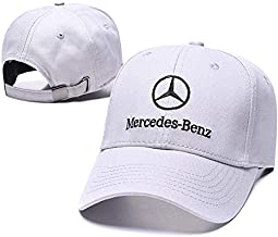 Fit Benz Accessories Yoursport Baseball Cap,Unisex Adjustable Hat Travel Cap for Man,Women White