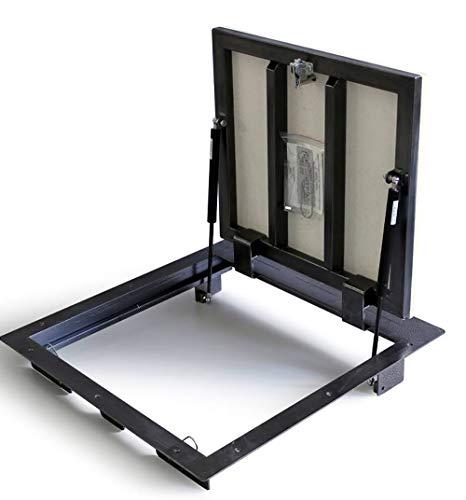 Schachtabdeckung 600mm x 900 mm (P) - Seitenscharniere, Bodenluke Schachtdeckel Revisionsschacht Kanalschacht