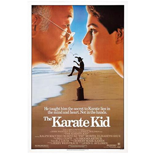 The Karate Kid 1984 Drama/Sport Classic Movie Art Decoración del hogar Póster Art Decor Pintura Arte de la pared Living Canvas Painting-50x70cm Sin marco