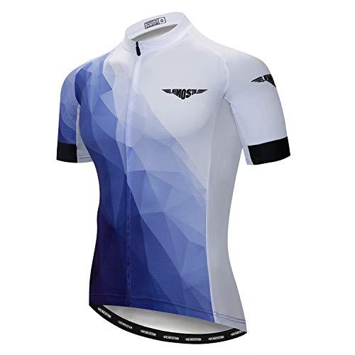 Yuyudou Ademende heren fietssport hemden en mountainbike fietsshirt zijn geschikt voor outdoor-sporten met mountainbike