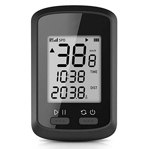Lzcaure Ordenador de bicicletas Smart GPS Ciclismo Ordenador Inalámbrico Bicicleta Accesorios Ciclismo al aire