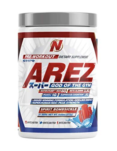 Arez Super: God of The Gym Pre-Workout (Bombsickle)